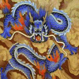 Le-cloisonné-chine-dragonbleu