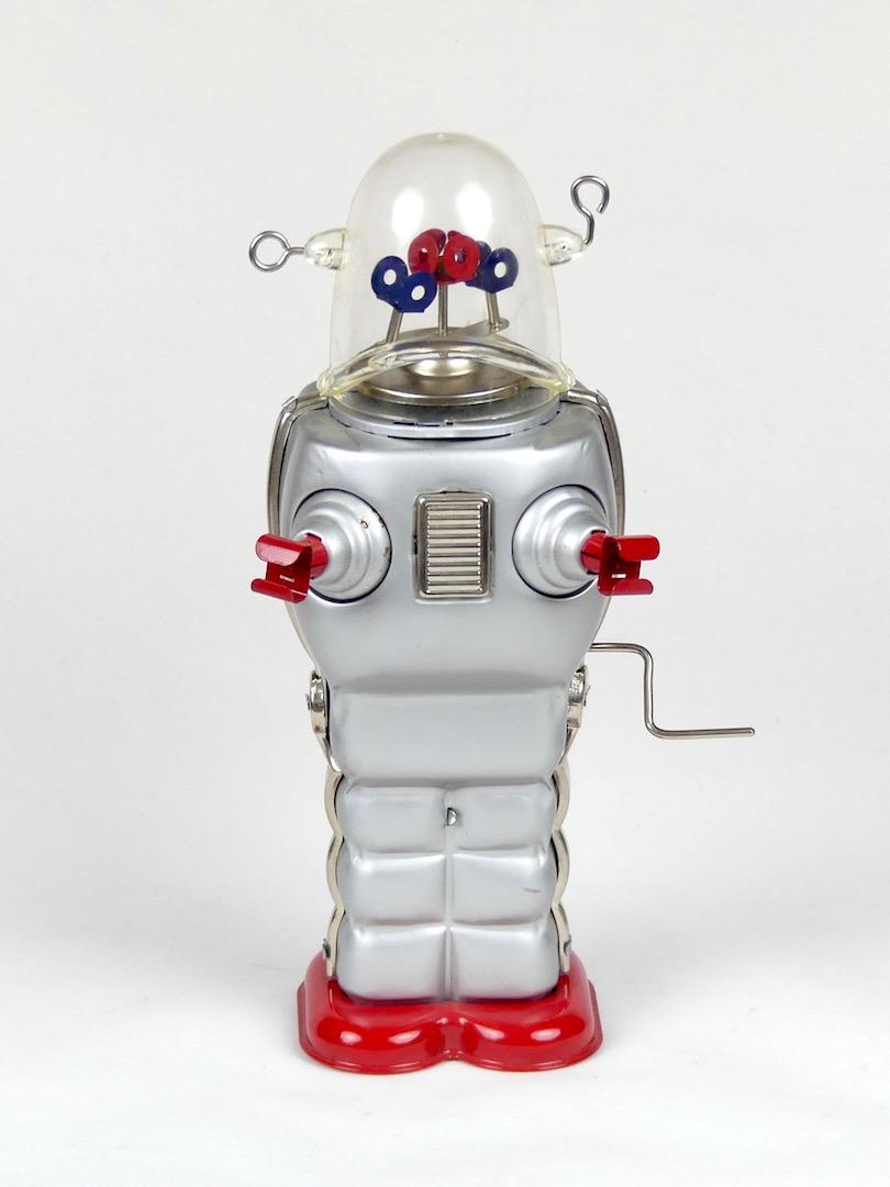 Robot Gris Space Trooper