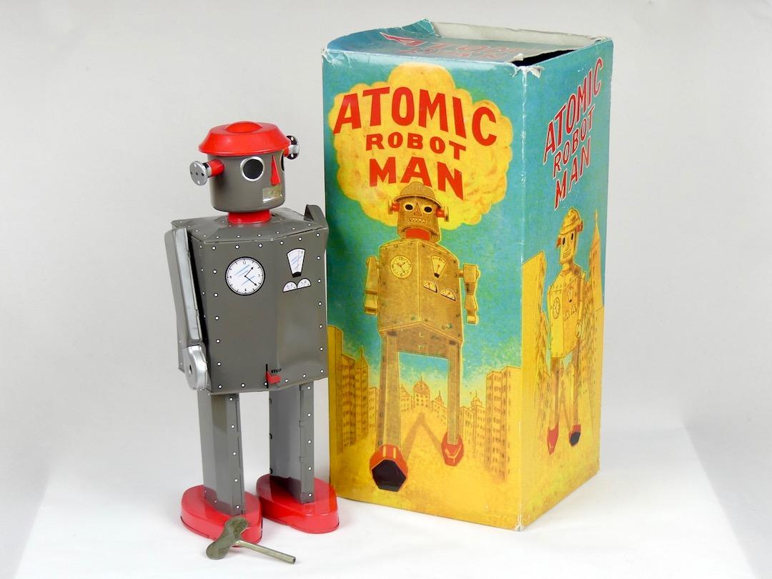 Atomic Robot Man (boîte)