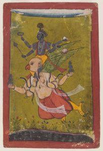 Brooklyn Museum Vishnu on Garuda