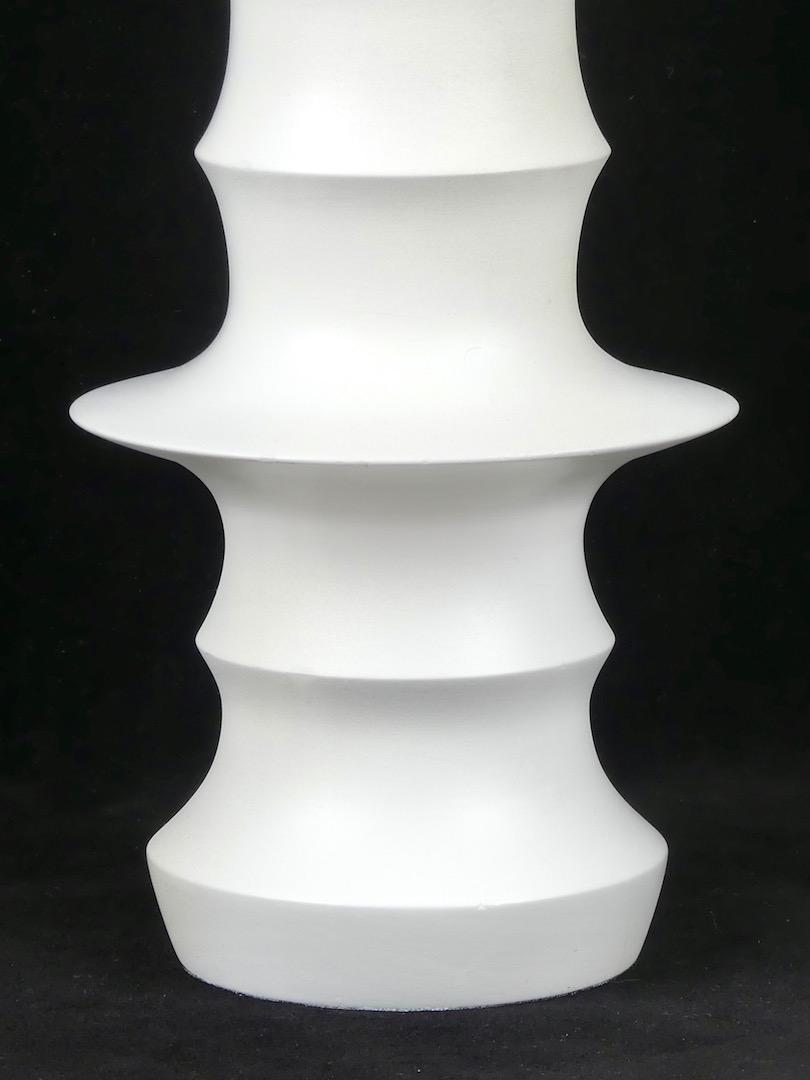 Vase en bois (détail)
