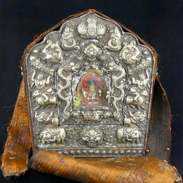 Ghau autel de voyage (face ouvert)