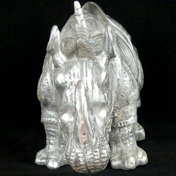Grand rhinocéros (face)