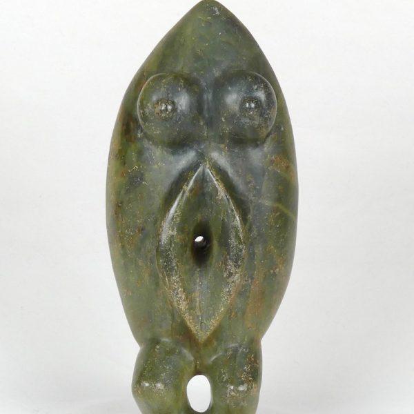 Statuette en jadéite (face)