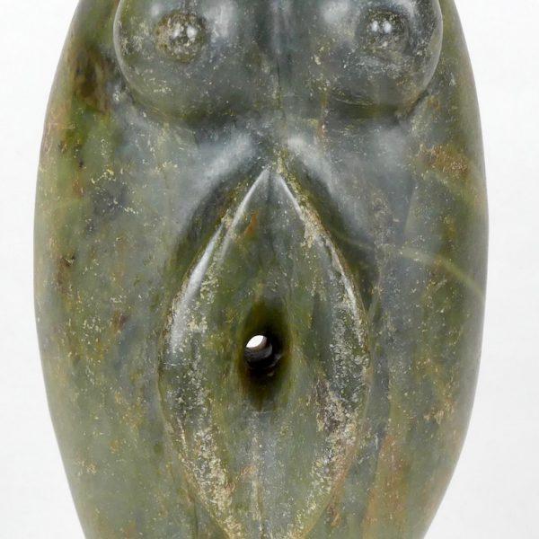 Statuette en jadéite (détail)