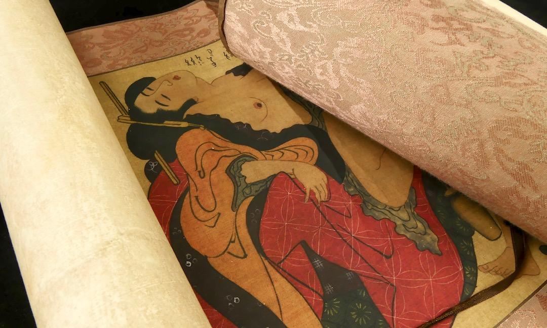 Shunga Makimono (détail)