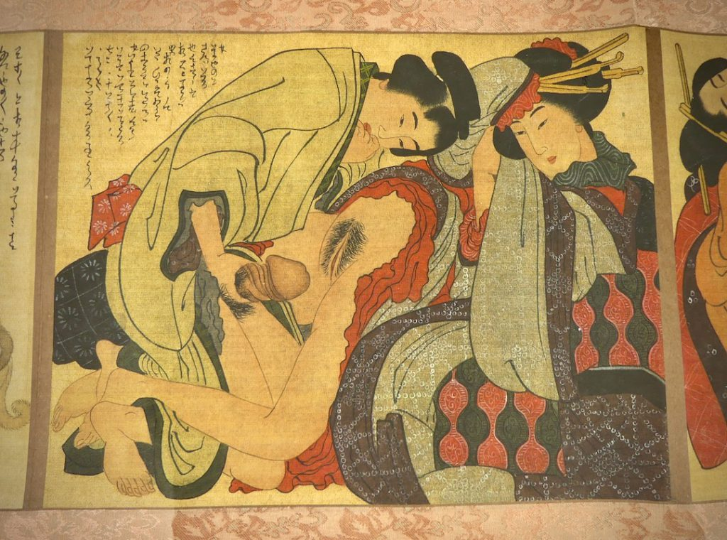 Shunga Makimono (estampe 2)