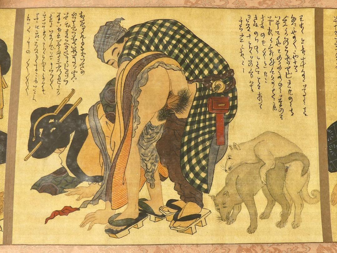 Shunga Makimono (estampe 3)