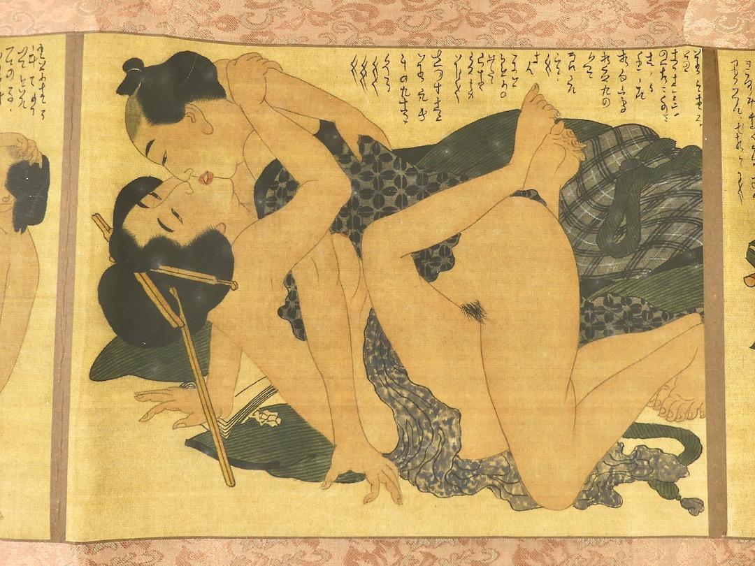 Shunga Makimono (estampe 5)