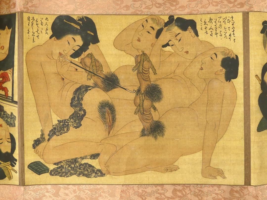 Shunga Makimono (estampe 6)