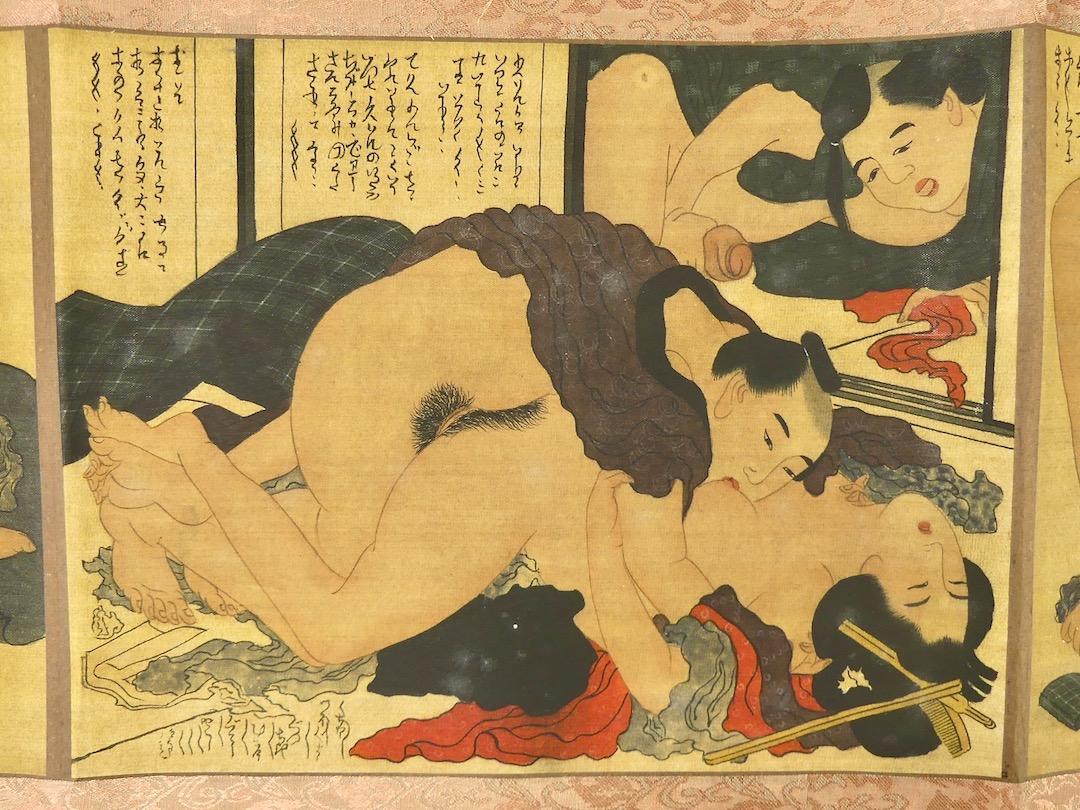 Shunga Makimono (estampe 7)