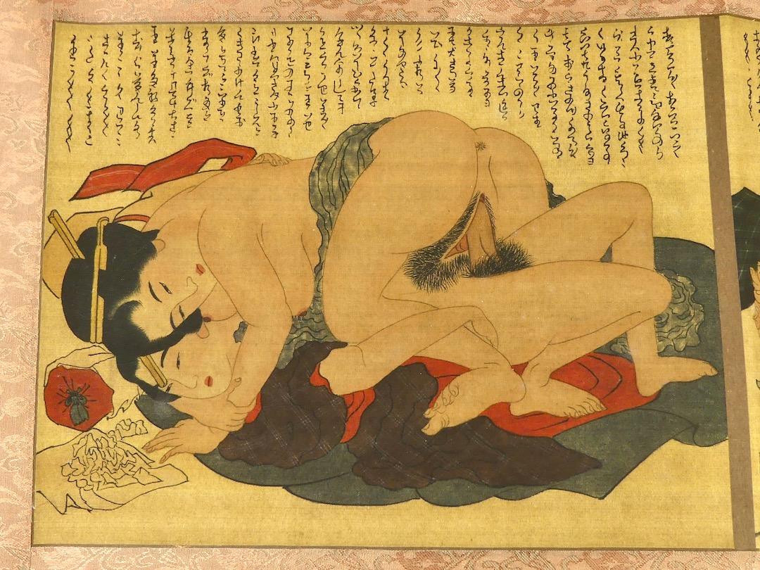 Shunga Makimono (estampe 8)