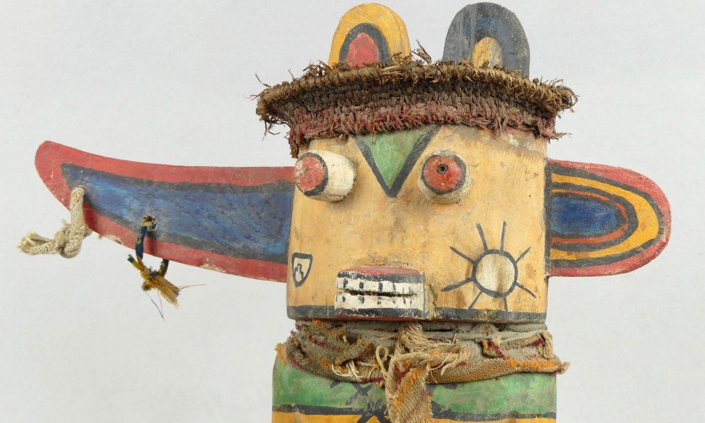 Poupée Kachina Hopi (tête)