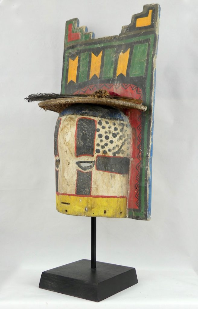 Masque Kachina Hopi à Tabletta (3/4)
