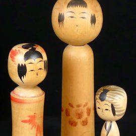 Les Kokeshi de Tōhoku