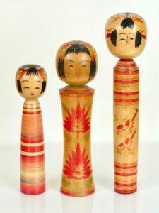 3 Kokeshi