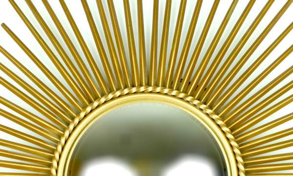 Grand miroir Chaty Vallauris (détail 2)