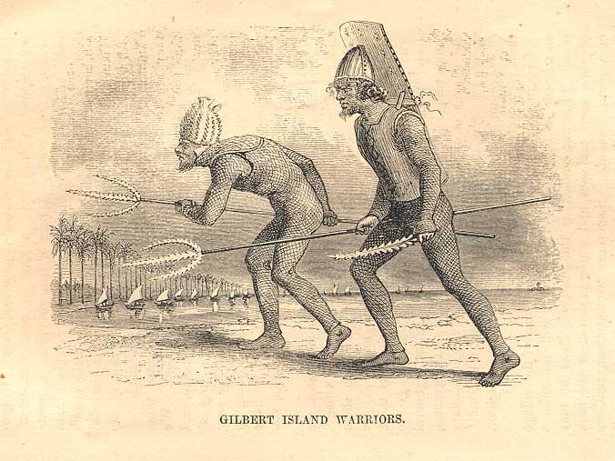 Les guerriers Kiribati