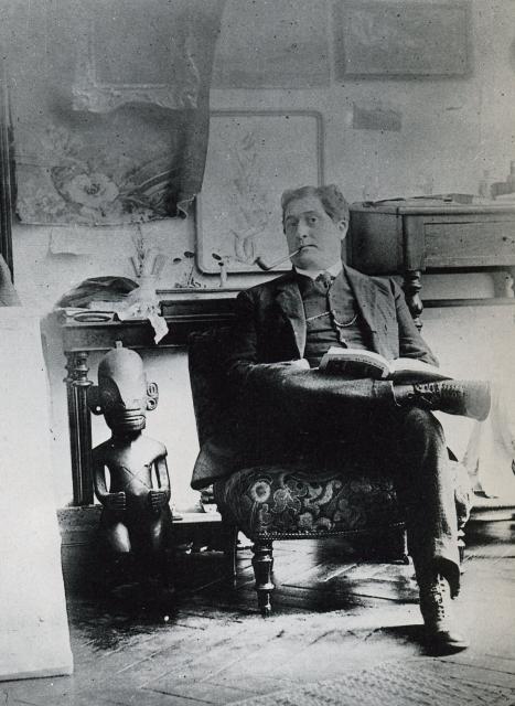 Guillaume Apollinaire et le Tiki des Marquises