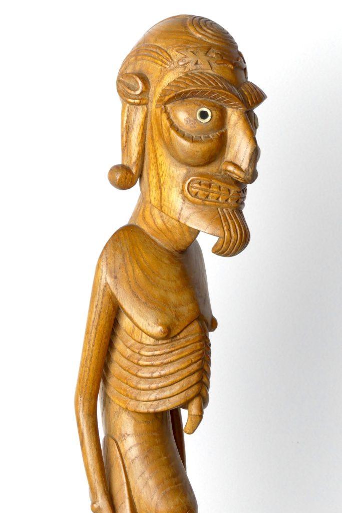 Moaï Kavakava (détail)