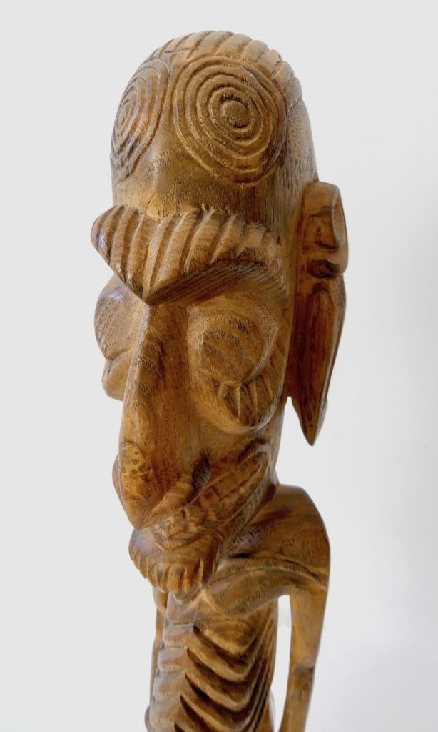 Grand Moaï Kavakava (dessus tête)