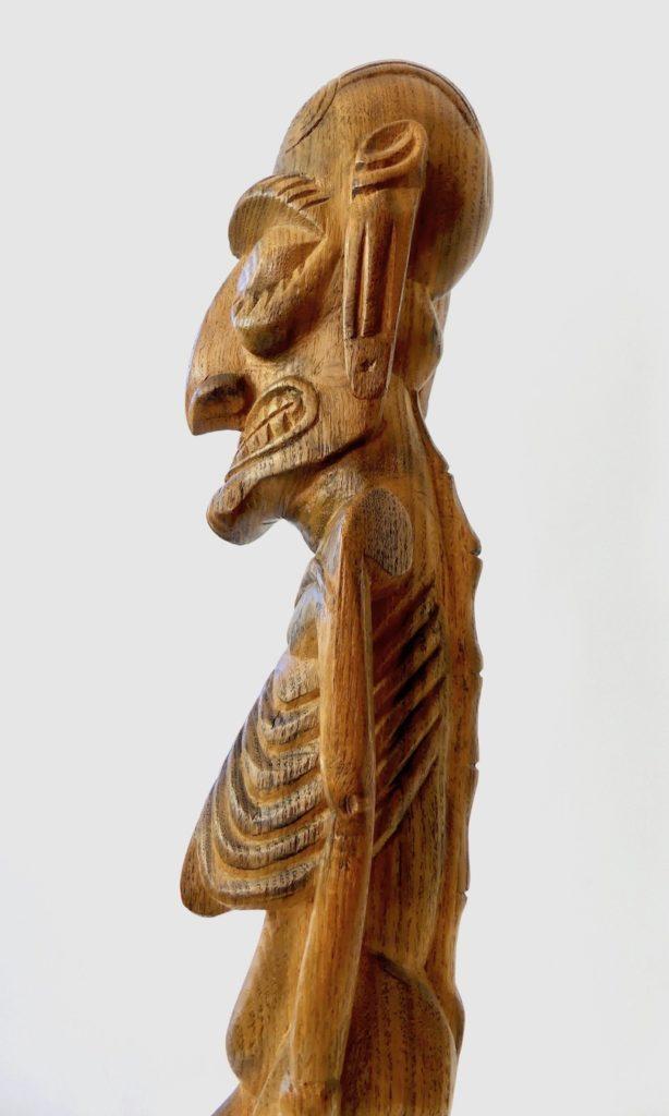 Grand Moaï Kavakava (profil détail)