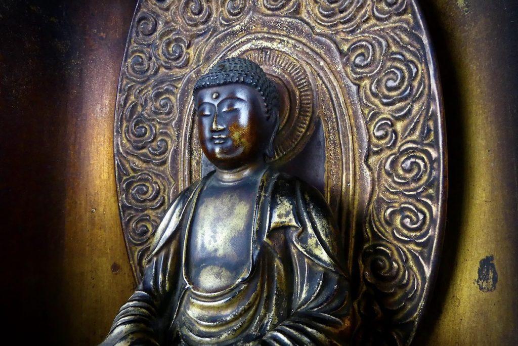 Butsudan Bouddha Amida (détail 3)