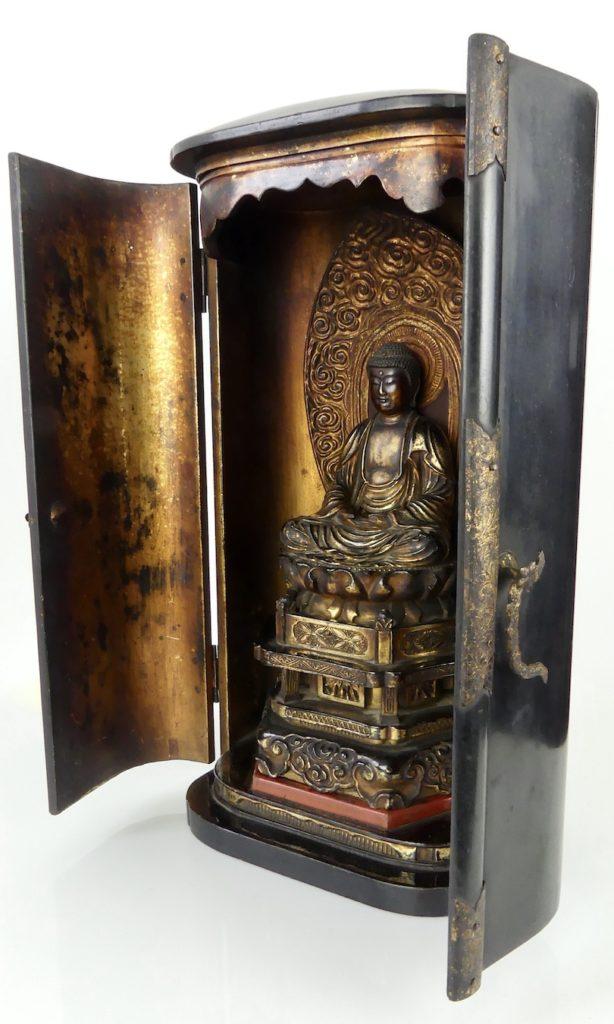 Butsudan Bouddha Amida (3/4)