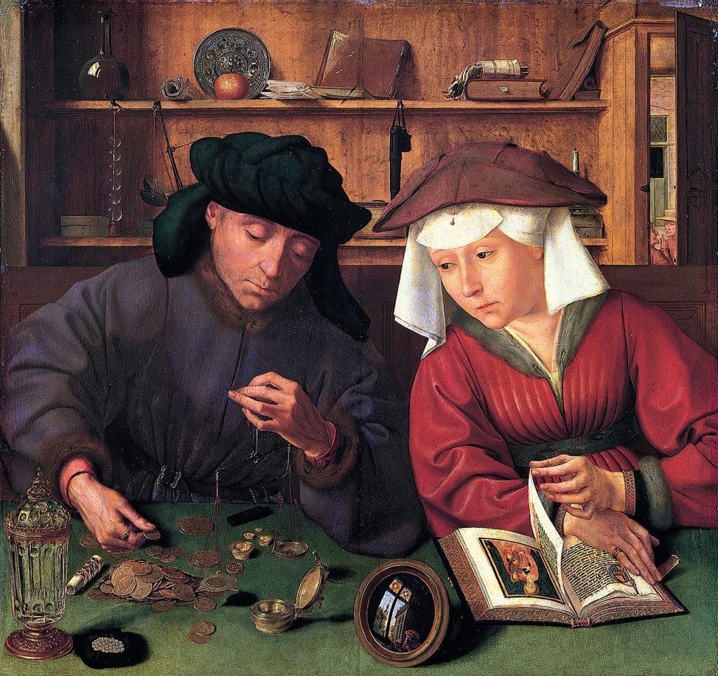 Quentin Metsys - Le Prêteur et sa femme